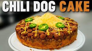 Hot Dog Cake Recipe | Mythical Kitchen