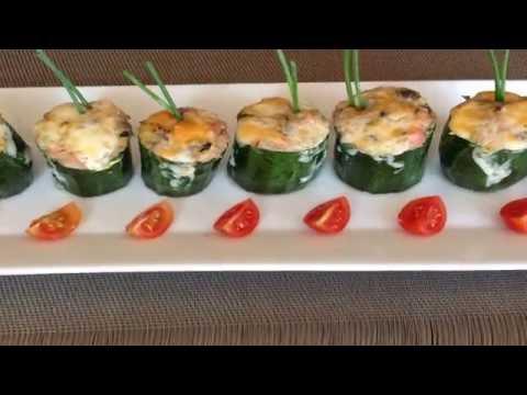CALABACINES RELLENOS - Recetas de Cocina