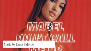 Don't Call Me Up Mabel (lyrics)