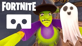 Fortnite Halloween 360 video Google Cardboard VR Box SBS 3D 4K