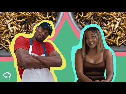 """Comedian Tiffany Haddish Joins Serge Ibaka on """"How Hungry Are You?"""""""