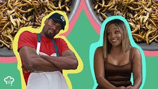 "Comedian Tiffany Haddish Joins Serge Ibaka on ""How Hungry Are You?"""