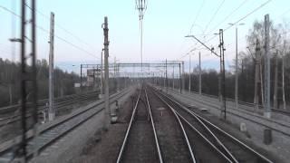 preview picture of video 'Odcinek Zawiercie - Dąbrowa Górnicza - jazda Wiedenką i D29-160 z tyłu pociągu TLK Zamenhof'