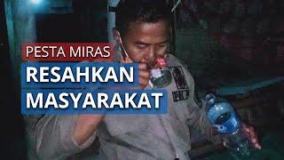 Satpol PP gerebek Lokasi Sekelompok Pemuda yang Dilaporkan Pesta Miras di Kota Kediri