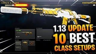 10 BEST CLASS SETUPS AFTER COD BO4 1.13 UPDATE! - BEST CLASS SETUP AFTER UPDATE! (BEST CLASSES BO4)