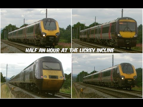Half an hour at Vigo Crossing on the Lickey Incline 13th Aug…