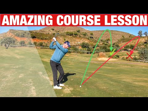 ON COURSE GOLF LESSON YOU MUST WATCH! GOLF TIPS ...