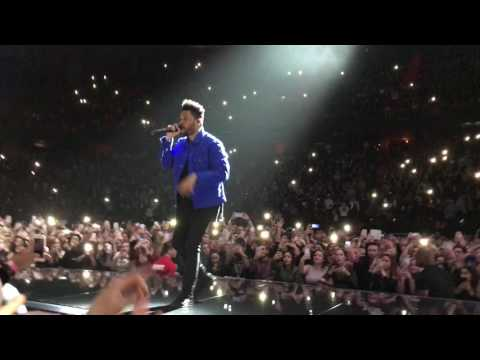 The Weeknd - All I Know [Live Stockholme Globe 2017, entrance song]