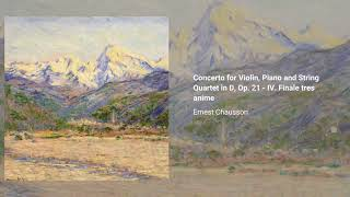 Concerto for Violin, Piano and String Quartet in D, Op. 21