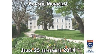 preview picture of video 'Conseil Municipal de Louveciennes - Jeudi 25 septembre 2014'