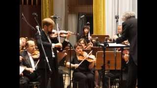 Э. Шоссон (1855-1899) Поэма для скрипки с оркестром op. 25