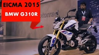 BMW G310R | First Look | PowerDrift