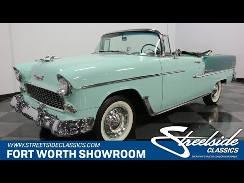 Video of Classic 1955 Chevrolet Bel Air located in Texas - $76,995.00 Offered by Streetside Classics - Dallas / Fort Worth - QAW8