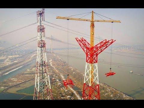 Cách Trung Quốc xây dựng đường dây tải điện siêu cao áp 1100 Kilovolt cao nhất thế giới