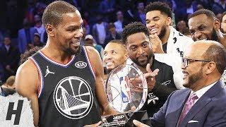 Kevin Durant MVP Trophy Presentation   February 17, 2019 NBA All-Star Game