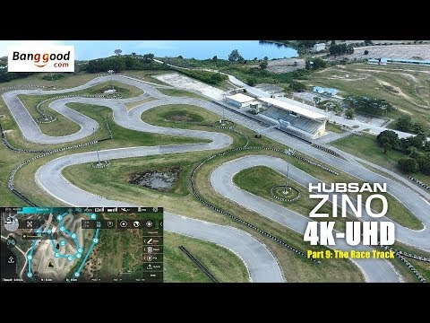 HUBSAN ZINO H117s 4K UHD drone -Part 9: The Race Track
