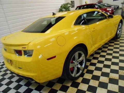 2011 (11) Chevrolet Camaro 3.6 V6 RS COUPE 6SP MANUAL (Sorry Now Sold)