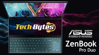 ZenBook Pro Duo | ASUS - The Laptop of Tomorrow | TechBytes