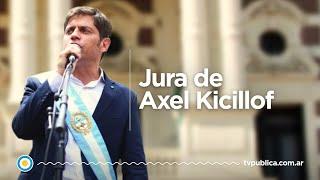 La jura de Axel Kicillof