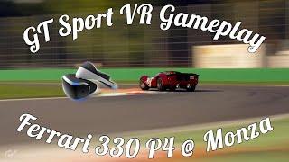 GT Sport VR Ferrari 330 P4 @ Monza!