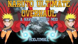 Naruto Ultimate Overhaul - Skyrim Naruto Jutsu Mod