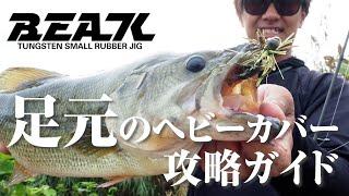 【バス釣り】ヘビーカバーを完全攻略!カバー特化型スモラバ『BEAK / ビーク』の使い方 / 加木屋守