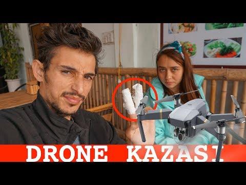 Drone Nasıl Uçurulmaz! (PARMAKLARIMI KESTİM)