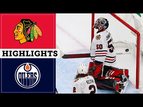 Connor McDavid scores hat trick in Oilers' victory over Blackhawks in Game 2 | NBC Sports Chicago