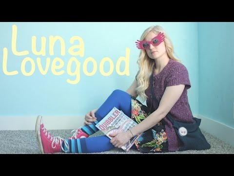 How To Make A Luna Lovegood Costume! Harry Potter Cosplay!