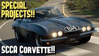 GT SPORT - Corvette C2 SCCA Race Car *REPLICA* Build!!