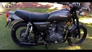 KZ400 KAWASAKI 1979 RESTORED 2016 HD