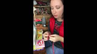 How to add a lobster clasp to fabric lanyard