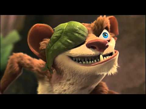 ice age 3 dawn of the dinosaurs plant scene