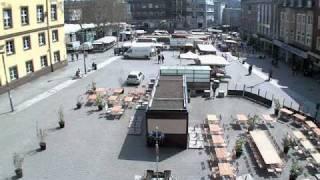 preview picture of video 'Witten Zentrum Rathausplatz - RuhrTV Webcam Archiv'