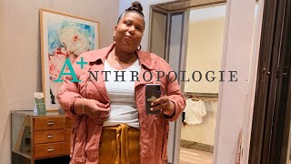 INSIDE THE DRESSING ROOM AT ANTHROPOLOGIE | AND I GET DRESSED