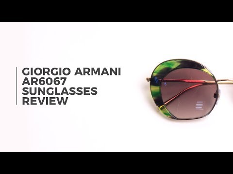 Giorgio Armani AR6067 Sunglasses Review | VisionDirect
