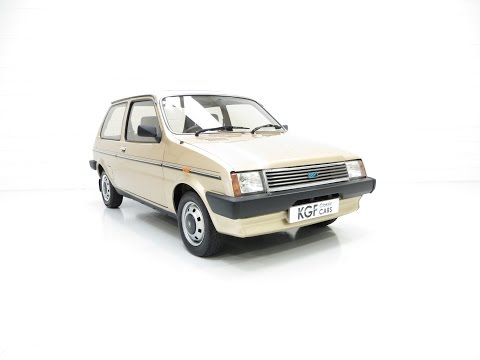 A Rare Surviving Austin Metro Vanden Plas With An Incredible 21,923 Miles From New - SOLD!