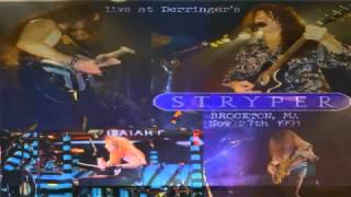 Stryper -Cant Stop the Rock Live (Audio)