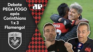 'O Renato Gaúcho está calando a imprensa'; debate pega fogo após Corinthians 1 x 3 Flamengo