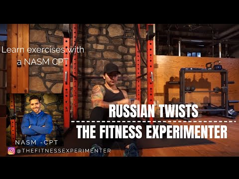 Russian Twist - Learn how to exercise with a NASM CPT - The ...