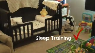 Sleep Training My 18 Month Old & Weaning After 2 Weeks
