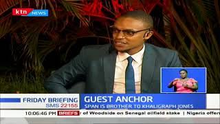 Brother to Khaligraph Jones, Musician Lamaz Span | GUEST ANCHOR