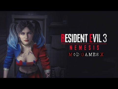 Resident Evil 3 Jill Harley Quinn