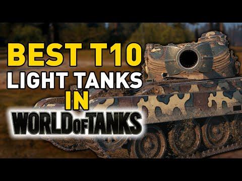 BEST T10 Light Tanks in World of Tanks!