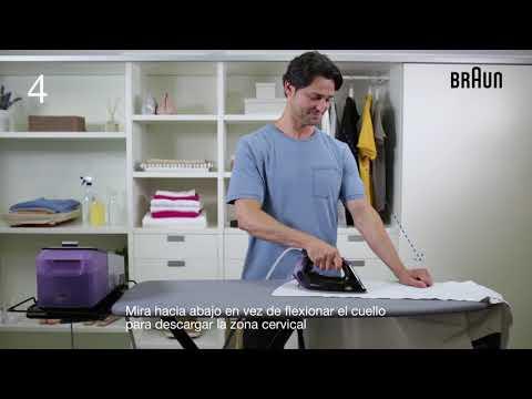 Vídeo Consejo | Planchar en la postura perfecta | Braun