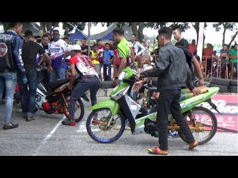DRAG BIKE 4t 125 Std Body Drag Racing Kubang Menerong Ogos 2018