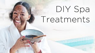 Tia Mowry's DIY Spa Day Treatments | Quick Fix