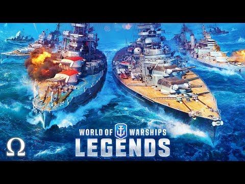 Download Battleship Vs Destroyer World Of Warships Legends Video 3GP
