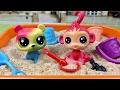 Minişler Anaokulunda 2 Bölüm Minişler Cupcake Tv LPS Littlest Pet Shop