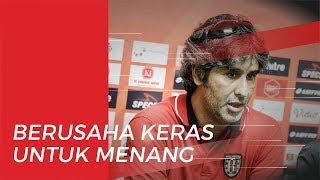 Bali United Siap Pesta Juara, Stefano Cugurra: Kami akan Fokus dan Bekerja Keras